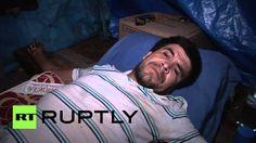 Paraguay: conductores de buses se crucifican como protesta