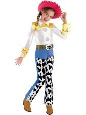 Girls Deluxe Toy Story Jessie Costume - Party City