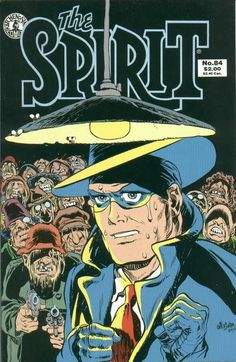 The Spirit #84 Cover - Will Eisner