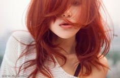 50 fotos de cabelos ruivos do tom vermelho, vinho ao acobreado para te inspirar. Cabelos lindos para quem quer se inspirar a mudar o visual e assumir a ruivisse.