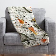 Randi Antonsen Throw Blanket