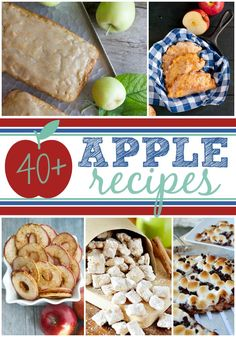 World's Best #Apple Recipe Roundup | Lots of apple yumminess for breakfast time, lunch time, snack time or sweet late night treat! | Dreaming of Leaving