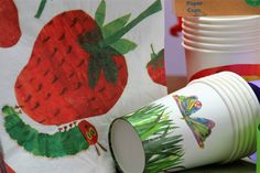 The Very Hungry Caterpillar Party Tableware Set for 12