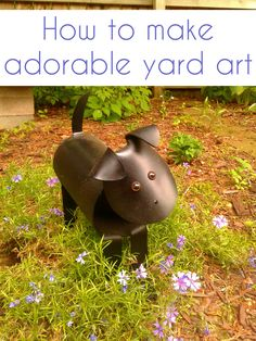 OMAdorable! I need to make this little guy for my front door. Get the PVC patterns for this pooch and more animals from CrazyDiyMom