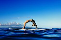 Calling all yogis! How amazing does Paddleboard Yoga sound?