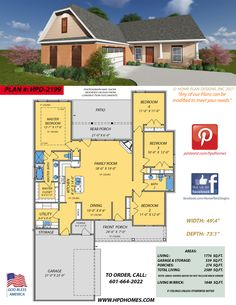 Custom And Stock Home Designs By Judson Wallace Of Home Plan Designs Flowood Ms