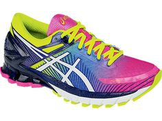 GEL-Kinsei 6 | Women | Standard | Hot Pink/White/Flash Yellow | ASICS US