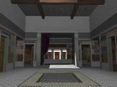 A quick walkthrough of a 3D model of an idealized Roman house. NOTE: I have posted a slower, slightly improved version (see my top videos list).