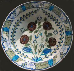 Plat - Iznik - vers 1545-1555