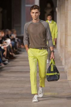 Hermes Spring / Summer. Fresh men's fashion daily follow http://pinterest.com/pmartinza