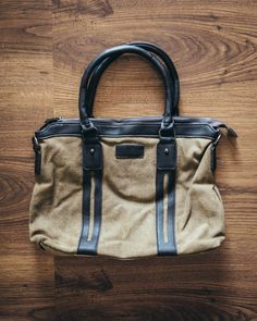 The Canvas Messenger Bag