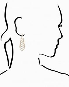 Syrah Dangle Earrings