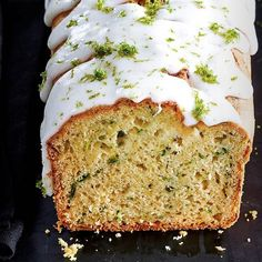 Avocado, courgette and lime drizzle cake: Sneak some of your five a day into your bake with this recipe for avocado, courgette and lime drizzle cake. The avocado gives a subtle silky feel to the sponge