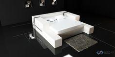 Stunning modern bed design.