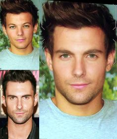 louis morphed with adam levine