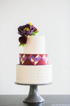 Sweater Weather Cake | by Erin Gardner for TheCakeBlog.com