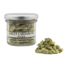 Williams-Sonoma Green Cardamom Pods (990 ALL) ❤ liked on Polyvore featuring home, kitchen & dining, filler, food and williams-sonoma