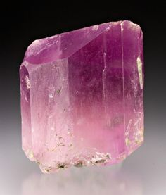 Spodumene var. Kunzite with Elbaite from Afghanistan  by Dan Weinrich