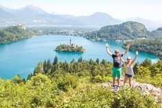 Camping Lake Bled - Slovenia | Europe By Camper - Travelling Europe By Motorhome