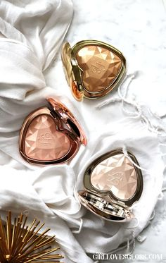 Too Faced Love Light Prismatic Highlighters • Girl Loves Gloss Pinterest || EvaDBarrosxox