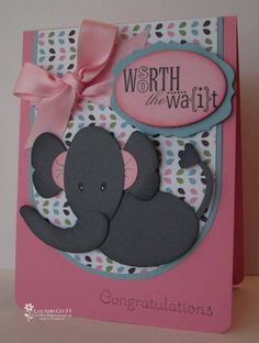 Punch Art Elephant by flowerbugnd1 - Cards and Paper Crafts at Splitcoaststampers