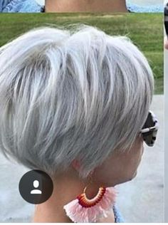 10 Short Hairstyles For Women Over 50 – Stylendesigns 10 Short Hairstyles For Women Over 50 – Stylendesigns,Womens Hairstyles Short Hairstyles for Fine Hair 2019 Related posts:Stunning Short Hairstyles for Your Wedding coiffure. Short Grey Hair, Short Hairstyles For Thick Hair, Short Hair With Layers, Short Hair Cuts For Women, Hair For Women Over 50, Short Fine Hair, Grey Bob Hairstyles, Bobs For Thin Hair, Silver Grey Hair Gray Hairstyles