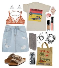 """""""Daily Style"""" by nabilci on Polyvore featuring Christopher Fischer, Birkenstock, Marc Jacobs, Eres, Casetify, NARS Cosmetics, esum, Swatch and Jennifer Meyer Jewelry"""