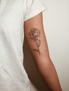 peonie tattoo
