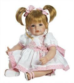 Brinquedo Adora Baby Doll 20 inch Happy Birthday Baby Sandy Blonde Hair Blue Eyes #Brinquedo #Adora