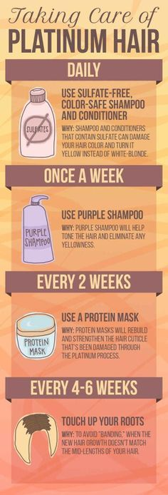 How to take care of blonde hair