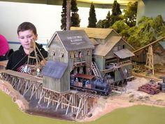 O Scale Coon Gap Sawmill - Kit Building - Model Railroad Forums - Freerails Escala Ho, Ho Model Trains, Garden Railroad, Making A Model, Hobby Trains, Electric Train, Model Train Layouts, Model Building, Train Set
