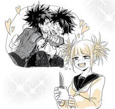 Characters: Midoriya Izuku, Himiko Toga