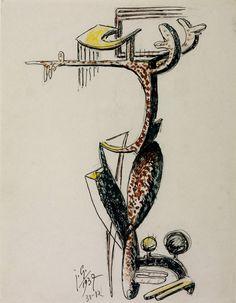 julio gonzalez sculpture | Julio González, 'Fantastic Figure' 1937