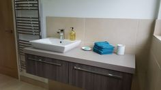 Completed bathroom Installation in the West End Surrey area. Bathroom Fitters, Bathroom Installation, Complete Bathrooms, West End, Surrey, Vanity, Vanity Area, Lowboy, Dressing Tables