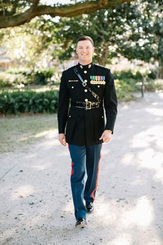 military groom | Caroline Ro