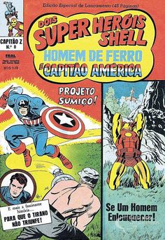 Iron Man and Captain America (Captain Z) 3rd Series - n ° 0 / Ebal |  View Forum Leaders
