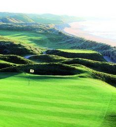 Ballybunion Golf Course Links Green