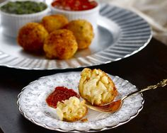 Crispy Macaroni Cheese Balls! .. Delicious!