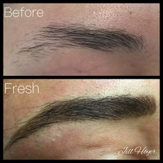 Blended Brow™ techniques- hair strokes and shading for a natural brow restoration. Complimentary consults, 408.395.7792