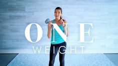 Senior & Beginner Workout - ONE DUMBBELL STRENGTH WORKOUT 12 minutes
