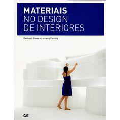 Livro - Materiais no Design de Interiores