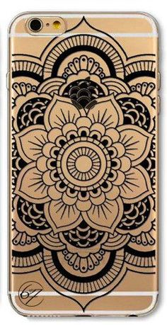 YOU WILL GET NOTICED with this Super Luxurious Old English Blacklace Pattern Cell phone case - Compatible Model: iPhone 6 - Luxury, Fashionable, and Stunning Design Case - Soft, Slim case enhanced imp