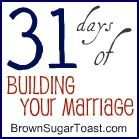 Haven't read all of these, but day 2 is a great reminder of Who is the builder of marriages.