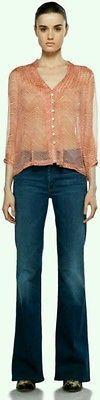 Denim Mid-Rise Flare Medium Regular Size Jeans for Women Mother Denim, Bell Bottom Jeans, Flare, Drama, Legs, Best Deals, Pants, Ebay, Shopping