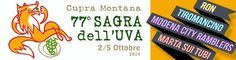 A Cupramontana dal 2 al 5 Ottobre si svolgerà la 77 Sagra dell'uva.