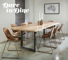 Value Furniture, New Furniture, Timber Dining Table, Dining Chairs, Dining Rooms, Kitchen Interior, Kitchen Design, Decor Interior Design, Interior Decorating