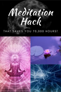 Scientific Meditation Hack That Saves You Hours Meditation Benefits, Mindfulness Quotes, Life Changing, The Life, Save Yourself, 1970s, How To Become, Creativity, Stress