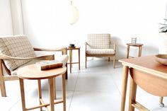 Nesting tables by Poul Hundevad for Novy Domov