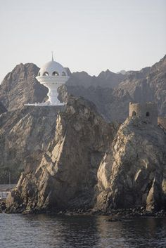 ♥♥ Old fort and futuristic architecture, Muscat, Oman