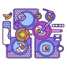 Work by @aleebaes #design #graphicdesign #illustration
